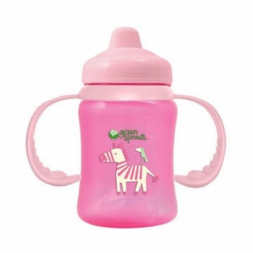 Green Sprouts Non-Spill Sippy Cup (Stage 2 to 4) Pink