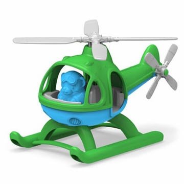 Green Toys Helicopter - Green