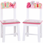 Guidecraft Butterfly Buddies Extra Chairs - Set of 2