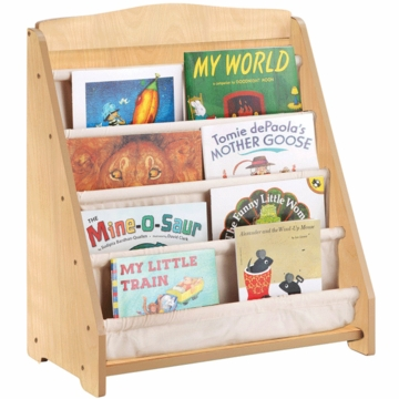 Guidecraft Expressions Book Display in Natural