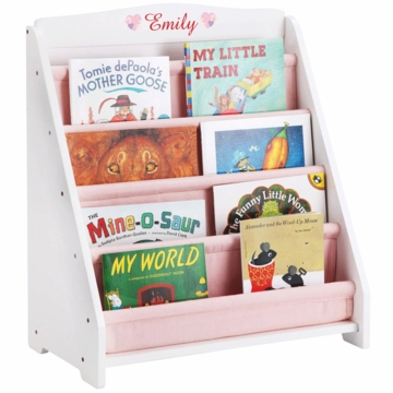 Guidecraft Expressions Personalized Book Display in White