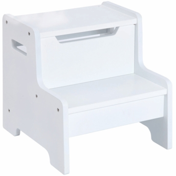Guidecraft Expressions Step Stool in White