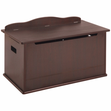 Guidecraft Expressions Toy Box in Espresso