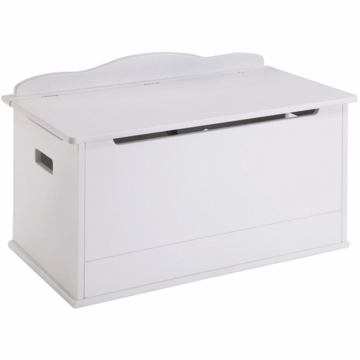 Guidecraft Expressions Toy Box in White