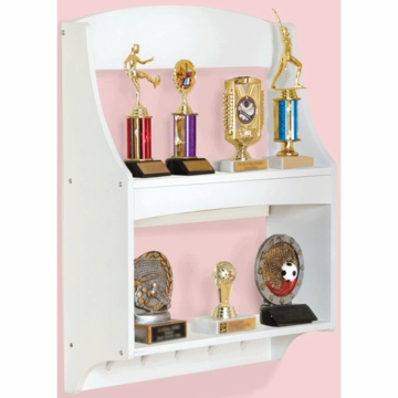 Guidecraft Expressions Trophy Rack in White