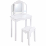 Guidecraft Expressions Vanity & Stool in White