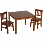 Guidecraft Misson Table & Chairs Set