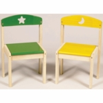 Guidecraft Moons & Stars Extra Chairs - Set of 2