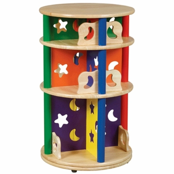 Guidecraft Moons & Stars Media Carousel