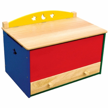 Guidecraft Moons & Stars Toy Box