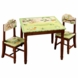 Guidecraft Papagayo Table & Chairs Set