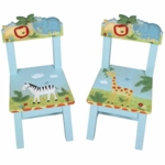 Guidecraft Safari Extra Chairs - Set of 2