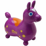 Gymnic Rody Inflatable Hopping Horse - Purple