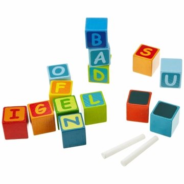 HABA Building Blocks First Letter Fun