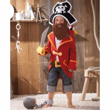 HABA Captain Charlie Pirate Costume