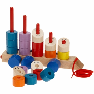 HABA Convoi Pull & Stack Toy