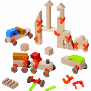 HABA Discover Technics - Wooden Blocks