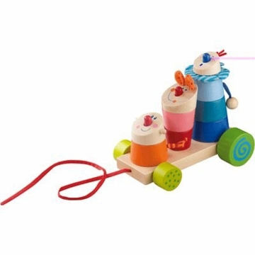 HABA Stack the Trix Mix Pull Toy