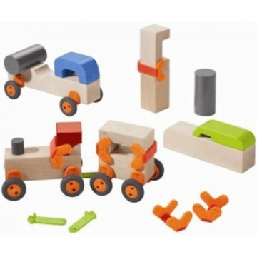 HABA Technics Wooden Blocks - Basic Set