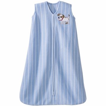 Halo SleepSack Micro Fleece Wearable Blanket in Dog Stripes - Small