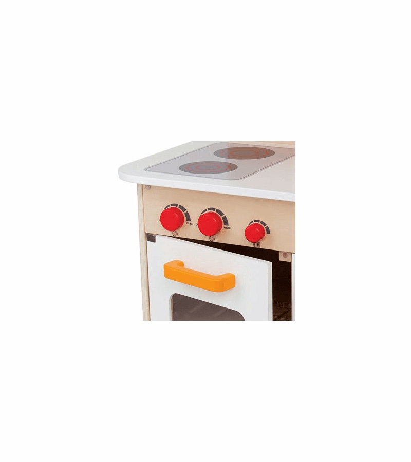 maxresdefault Hape White Gourmet Chef Kitchen With Accessories
