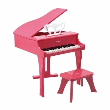 Hape Happy Grand Piano in Pink