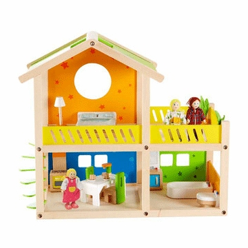 Hape Happy Villa Dollhouse