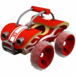 Hape International Bamboo E-Off Roader