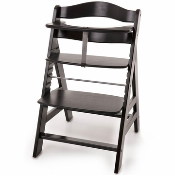 Hauck Alpha High Chair in Blackwash