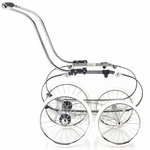 Inglesina Classica Balestrino Frame with Basket in Navy