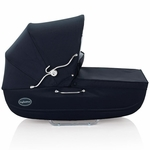 Inglesina Classica Bassinet with Diaper Bag in Navy