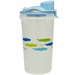 Innobaby Keepin' Fresh Stainless Steel 12oz Travel Cup - Blue/Alligator