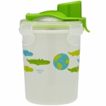 Innobaby Keepin' Fresh Stainless Steel 8oz Travel Cup - Green/Alligator