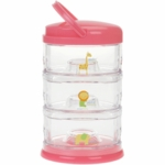Innobaby Packin' SMART Three Tier Zoo Animal Series in Strawberry Sorbet