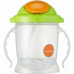 Innobaby Sippin' Smart EZ Flow Straw Sippy - Green