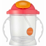 Innobaby Sippin' Smart EZ Flow Straw Sippy - Pink