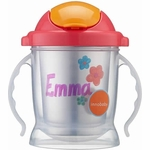 Innobaby Sippin' Smart EZ Flow Straw Stainless Sippy - Pink