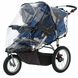 InSTEP Weathershield Double Swivel Wheel Clear