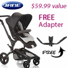 Jane Free Adapter with Rider and Trider