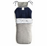 Jane Nest Plus Footmuff - Blue Moon