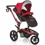 Jane Trider Extreme Stroller - Deep Red