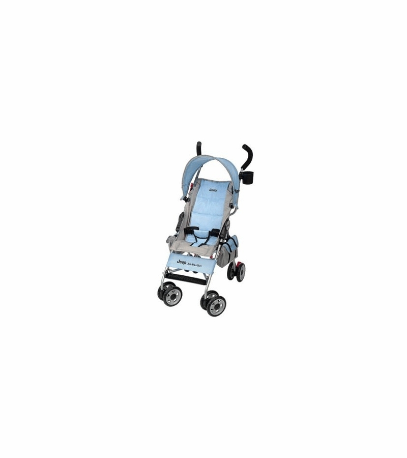 Jeep All-Weather Umbrella Stroller In Ice Blue