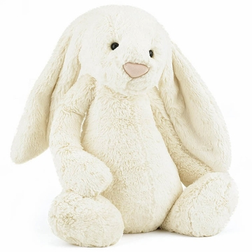 "Jellycat 12"" Bashful Bunny, Cream"