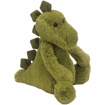 Jellycat Bashful Dino, Green - Medium