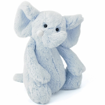 Jellycat Bashful Elephant, Light Blue - Large