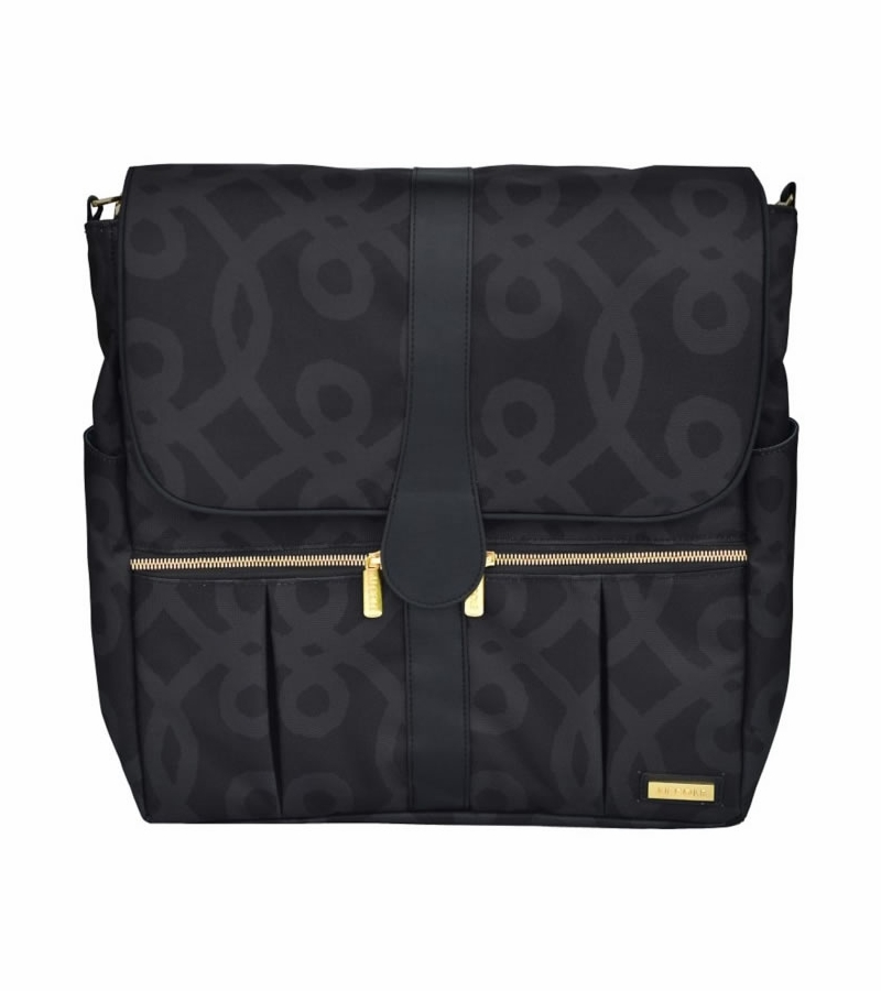 jj cole backpack diaper bag black gold. Black Bedroom Furniture Sets. Home Design Ideas