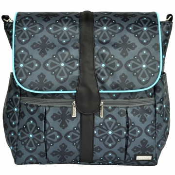 JJ Cole Backpack Diaper Bag - Blue Flare
