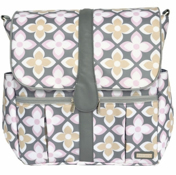 JJ Cole Backpack Diaper Bag - Pink Lily