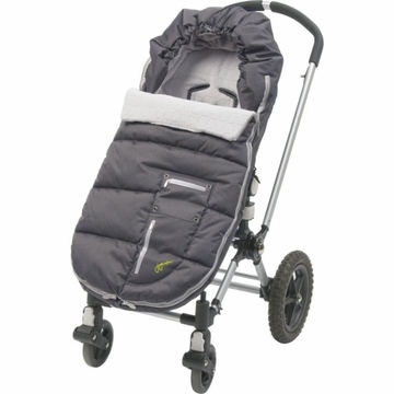 JJ Cole Bundleme Arctic Toddler - Charcoal Silver
