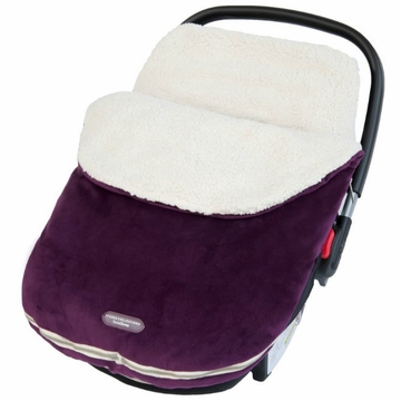 JJ Cole Bundleme Original Infant w/ Thermaplush - Eggplant